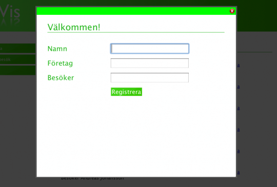 Enkelt formulär
